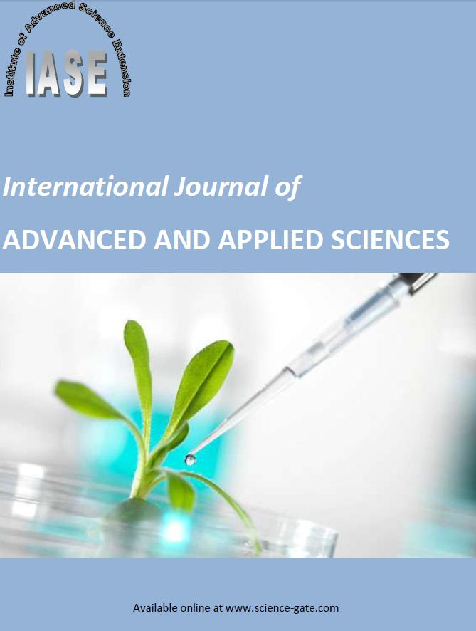 Home - International Journal of ADVANCED AND APPLIED SCIENCES